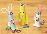 Bunny & Chick Candy Holders