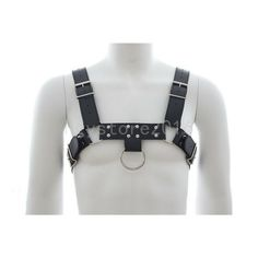 1a459f11d21 Sexy Men s Chest Body Harness Faux Leather Cosplay Clubwear Underwear  Costume Chest Body