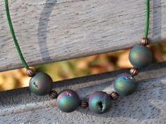 Brhlík - lávový náhrdelník Beaded Bracelets, Drop Earrings, Jewelry, Jewlery, Jewerly, Pearl Bracelets, Schmuck, Drop Earring, Jewels