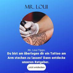 Du suchst Tattoo Ideen für den Mann am Arm? Dann bist du hier genau richtig. Ideen für deine nächste Tätowierung liefern wir dir hier. Des Weiteren erklären wir dir, worauf es beim richtigen Tattoo ankommt. Auf Mr. Loui findest du Tipps und Ideen für für dein nächstes Tattoo am Arm. . . . #tattoo #tattoos #instagood #inkedgirls #selfie #design #instagram #love #motivation #sleevetattoo #tattooart #tattooartist #black #fitfam #fitness #handtattoo #Tattoo #blackandwhite #bodyart #chesttattoo Hipster Outfits, Der Arm, Latest Mens Fashion, Mens Suits, Menswear, Men Casual, Perfect Guy, First Tattoo, Tips