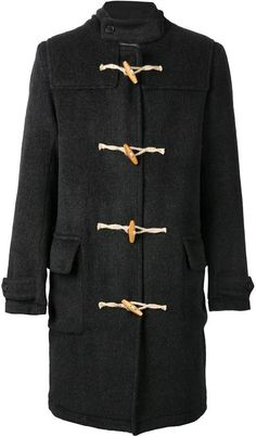 $655, Our Legacy Classic Duffle Coat. Sold by farfetch.com. Click for more info: https://lookastic.com/men/shop_items/370515/redirect