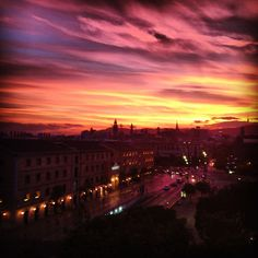 Beautiful Barcelona views from my old apartment