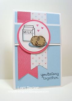 You Belong Together card-designed by Lori Tecler/Inking Aloud-stamps from Lawn Fawn
