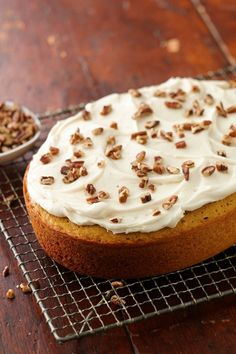 "Let the slow cooker do all the work for this easy pumpkin dessert made with a box of SuperMoist yellow cake mix. (Sorry, you'll have to frost it yourself, though.) Betty member Jtgp says, ""This is so simple and delicious, I could not believe it was made in the slow cooker!"""