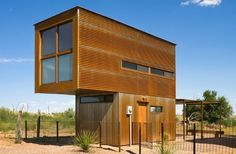 Micro Home (320 Square Foot), Marfa Texas - Candid Rogers Architecture