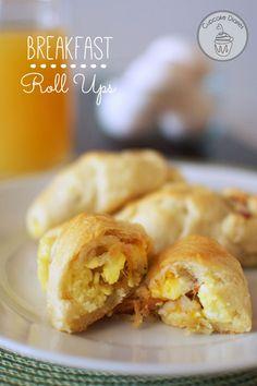 Breakfast Roll Ups + 49 other easy dinner ideas!