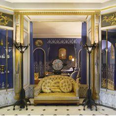 Boudoir de Jeanne Lanvin Armand Albert Rateau (1882-1938) France, 1925 Bois peint, soie Don Prince Louis de Polignac, 1965 Inv. 39949 © Les Arts Décoratifs