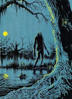 Mystery in the Moonlight, Claudia Schiffer photographed for UK Harper& Bazaar November 2009 Spooky Scary, Creepy Art, Dark Fantasy Art, Dark Art, Halloween Illustration, Illustration Art, Arte Peculiar, Halloween Artwork, Horror Artwork