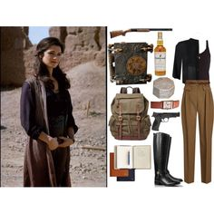 The Mummy Returns- Evelyn O'Connell inspired outfit... by elisehart on