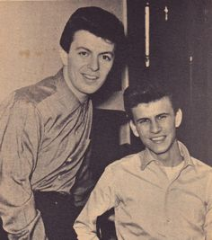 Dion and Bobby Rydell.