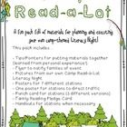 A fun pack full of materials for implementing your own literacy night! Invite parents and families to participate in 7 fun camping themed activitie...