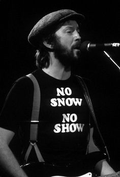 """losetheboyfriend: """"Eric Clapton (1978) """""""