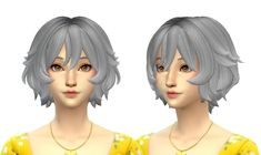 Sims 4 Mods Clothes, Sims 4 Clothing, Sims Mods, Sims 4 Cc Skin, Sims 4 Mm Cc, Sims 4 Anime, Pelo Sims, Androgynous Hair, Sims 4 Characters