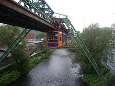 """This """"floating railway"""" is one of the world's oldest monorail systems"""