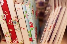floral book covers
