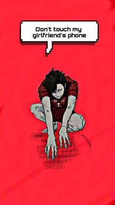 Haikyuu Meme, Haikyuu Wallpaper, Kuroo Tetsurou, Kurotsuki, Wallpaper Space, Animal Jokes, Cute Anime Boy, My Hero Academia Manga, Touch Me