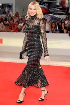 Venice Film Festival: Glamorous Naomi Watts commands the red carpet