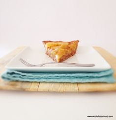 A delicious Apple Pie, free from gluten, grains, refined sugar and easily adapted to be dairy free. Enjoy.