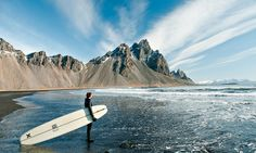Iceland, Europe's last surfing frontier
