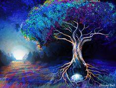 Shmueli Bell - Visionary Art | Graphic Design | Visual & Sound Journey | Tree of Life