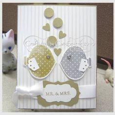Fish wedding card