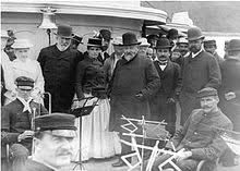 Blaine, Benjamin Harrison, and Henry Cabot Lodge and their families on vacation in Bar Harbor, Maine, sometime between 1889 and All Us Presidents, American Presidents, Presidential History, Presidential Election, Henry Cabot Lodge, Mexican American War, American History, William Henry Harrison, Benjamin Harrison