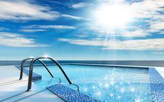 Blog Habitec - Imóveis Curitiba - Saiba como deixar sua piscina sempre limpa e pronta para uso