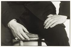 'Studien - Der Mensch [Hands of a Painter (Jankel Adler)]', August Sander, 1925, printed 1990 | Tate