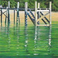 Check out Jetty by Rick Edmonds at New Zealand Fine Prints Marlborough Sounds, New Zealand Art, Boat Art, Kiwiana, Digital Printer, Various Artists, New Art, Art Prints, Nature
