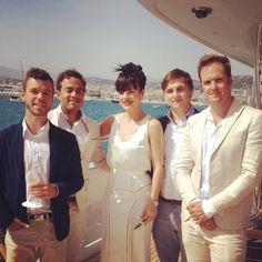 The Troubadours with Lily Allen - Troubadours Riviera Jason, Sam, Cae, Adrian