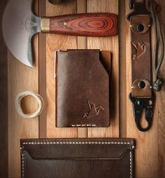 Jbird Collective leather goods