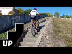 ▶ How to Ride Up Stairs on a Mountain Bike: The 4 Key Tips - YouTube