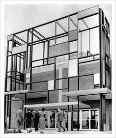 Piet Mondrian Style Architecture