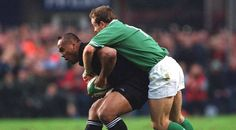 Keith Wood reveals an idea he had to put All Blacks legend Jonah Lomu off his game