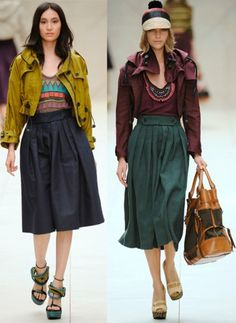 Burberry's Spring 2012 Collection