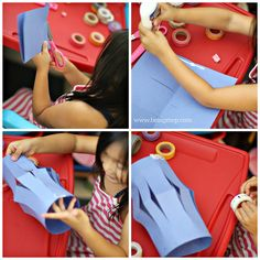 being MVP: DIY Rainbow Paper Lanterns | Fun Crafts with Mom