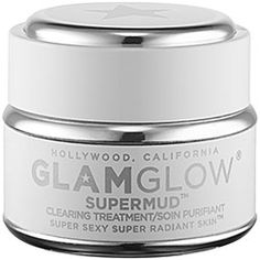 Skin issue: acne. GLAMGLOW - SUPERMUD™ CLEARING TREATMENT: This formula was clinically developed by GLAMGLOW® dermatological chemists to help fight all common skin concerns including breakouts, discoloration, black and white heads, razor bumps, and in-grown hair. Powerful, skin-clearing mud visibly draws out dirt and congestion while a proprietary six-acid blend dramatically brightens and softens skin. #sephora