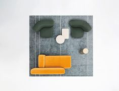 SUISEKI | Sofa Suiseki Collection By La Cividina design Andrea Steidl