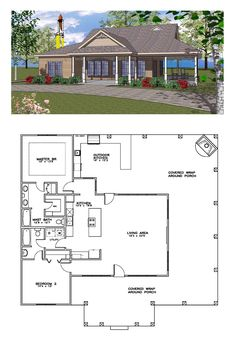 House Plan chp-46185 | Bedrooms, House and Tiny houses
