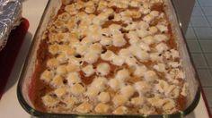 Debbie's Marshmallow Whipped Sweet Potatoes