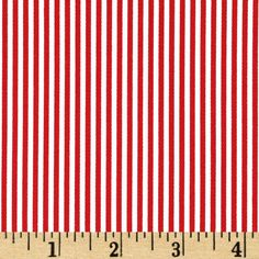 Premier Prints Desoto Stripe Lipstick/White from @fabricdotcom  Screen printed on cotton duck , this versatile, medium weight fabric is perfect for window accents (draperies, valances, curtains and swags), toss pillows, bed skirts, duvet covers, slipcovers and more! Get creative with tote bags, aprons and other home decor accents. Colors include lipstick red and ivory/white .