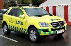◆Mercedes ML SUV Ambulance, Denmark◆