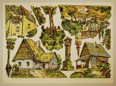1. 2. 3. 4. 5. 6. 8. 9. 10. [Setzstücke Dorf und Landschaft] Münzberg, Antonín
