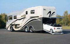 Women and RV, Motorhome, Camper Travel Bus Camper, Kombi Motorhome, Motorhome Travels, Cool Campers, Rv Campers, Caravan Salon, Cool Rvs, Luxury Motorhomes, Luxury Rv