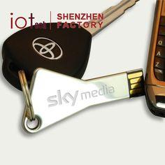 """Custom Logo Key USB,Key Memory Stick,Key USB Disk 2GB 4GB 8GB with Key Chains"""