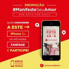 A promo mais  Apaixonada  do ano acaba de entrar no ar! #ManifesteSeuAmor participe aqui http://concurso.forboys.com.br #NaForBoysForGirlsTem #PromoDiaDosNamorados #ValentinesDay #TaChegando #VemDiaDosNamorados