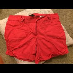 H&M Red Short H&M. Excellent Condition. Red H&M Shorts Jean Shorts