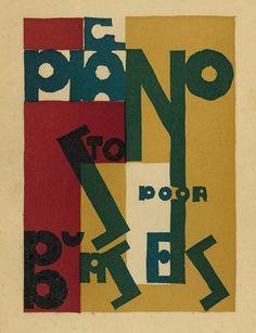 Gaston Burssens (1896-1965), Piano, (1924_ Museum voor Schone Kunsten, Gent, Bibliotheek