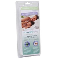 Standard Size - Set of 2 AllerZip Terry Anti Allergy and Bed Bug Proof Pillow Protector by Protect-A-Bed® by Protect a Bed. $54.99. Protect-A-Bed Pillow Protectors AllerZip pillow protectors are ideal for chronic allergy sufferers by providing a protective barrier against bacteria, dust mites and bed bugs. Certified by an Entomology Laboratory to be bed bug bite proof BugLock - Zippered style Protective against allergens such as pet dander and pollen Air vapor...