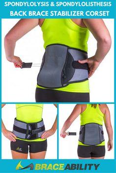 Spondylolysis & Spondylolisthesis Back Brace Stabilizer Corset - . - Allina Saoca S Middle Back Pain, Lower Back Pain Relief, Upper Back Pain, Low Back Pain, Hip Arthritis Exercises, Back Pain Exercises, Spondylolisthesis, Mechanical Advantage, Treatment For Back Pain